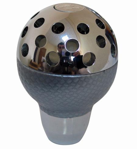 Ручка КПП PROSPORT, LED 7цв карб. кожа, серый YT-8788-5-7Grey.Carbon