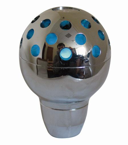Ручка КПП PROSPORT, LED 7цв , серебр. YT-8788-7