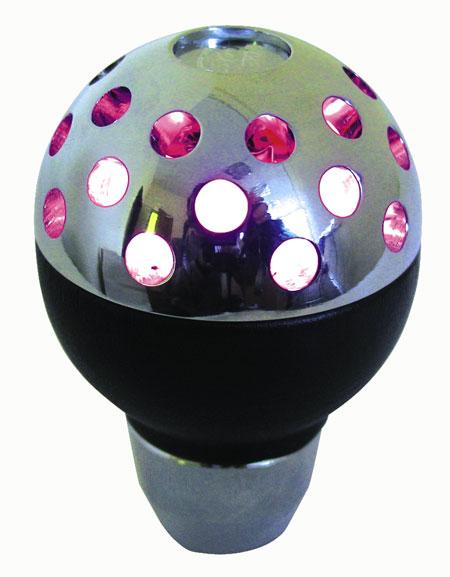 Ручка КПП PROSPORT, LED 7цв , черн. YT-8788-2-7
