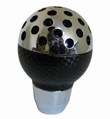 Ручка КПП PROSPORT, черн карб. YT-8708-5