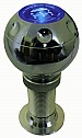 Ручка КПП PROSPORT, LED син. цв. шар c регул. удлиннителем хром YT-8756-BL