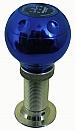 Ручка КПП PROSPORT, шар c регул. удлиннителем синий YT-8648B