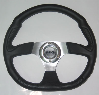 Руль PRO.SPORT 320mm, винил, черный PP-15010-32PVC