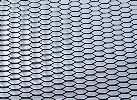 Сетка алюмин. ProRacing HONEY (120x20см), черная RS-21919BLK