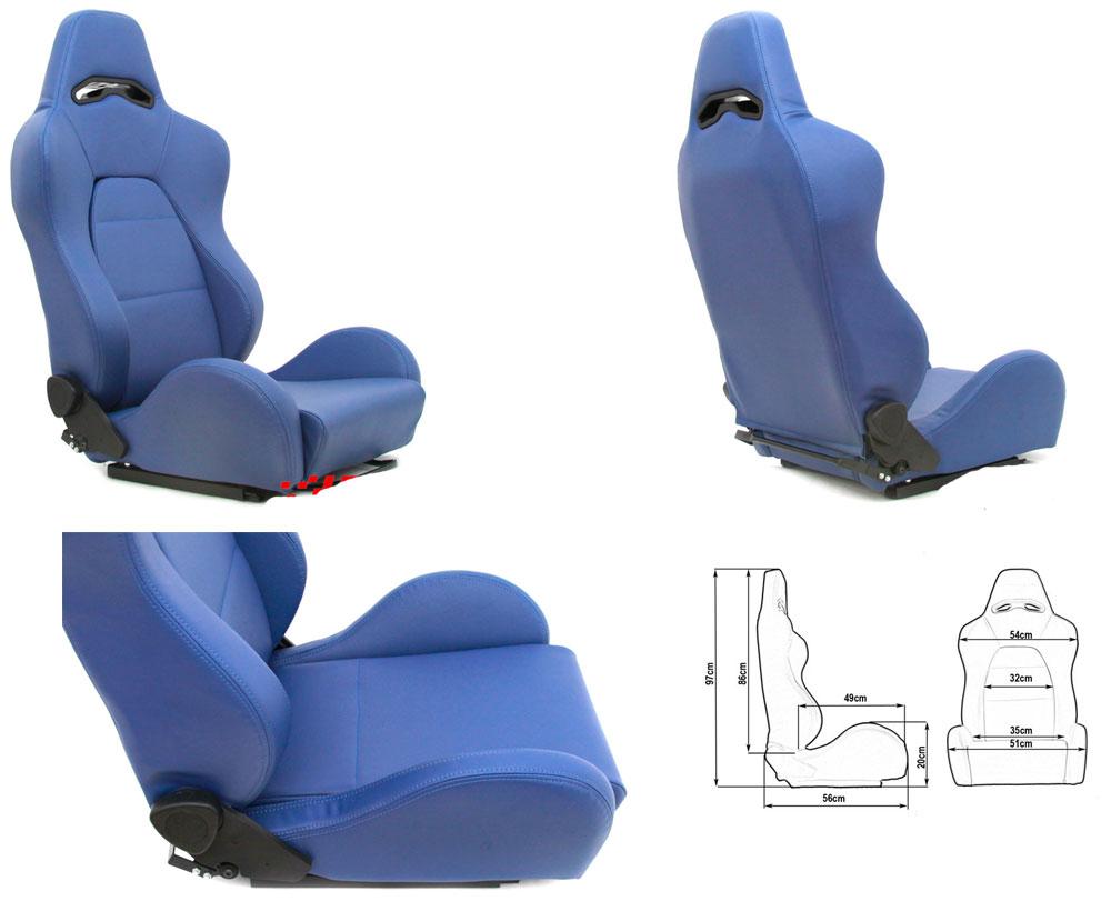 Сиденье DRAGO синее. Изготовлено из стальной рамы. Материал - кожзам. В комплекте крепления (салазки). Вес  - 13,5 кг