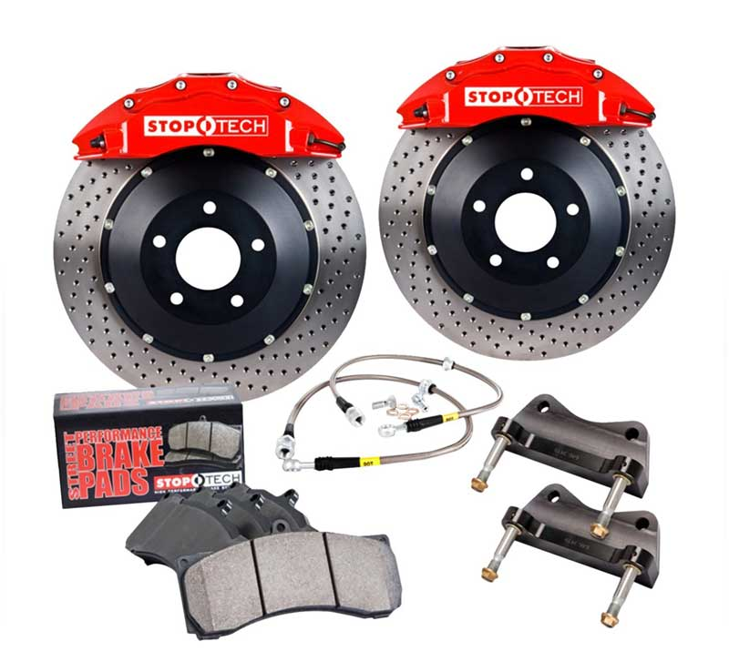 StopTech Big Brake Kit (BBK), пара, передний SUBARU IMPREZA 328X28/ST40