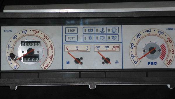 Вставка в щиток приборов ВАЗ 21093(высокая панель) люминесцентная, в стиле LEXUS 1 LADA 21093 - RS-00149, авто тюнинг...