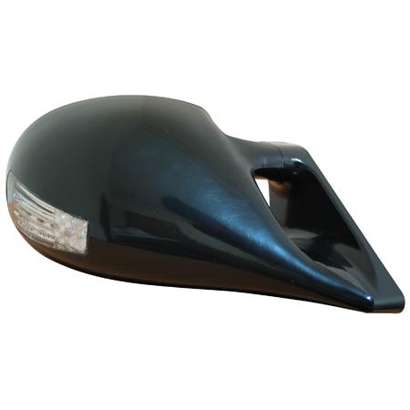 Зеркало с эл.приводом, + светодиодный поворотник, черное (3 провода)