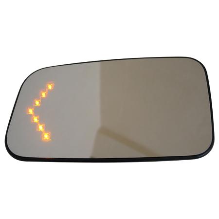 Зеркальный элемент (с подогревом) со встроенным светодиодным повторителем  Lad
