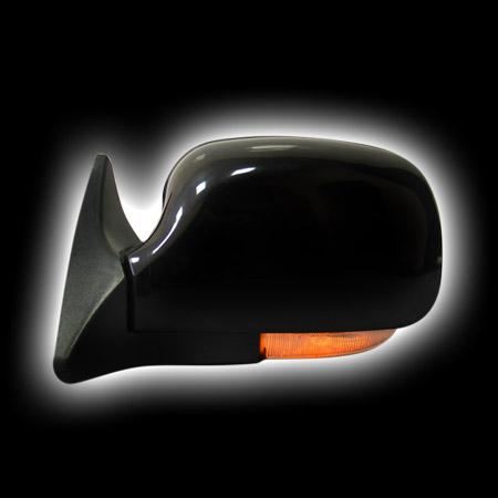 Зеркало LADA 2101-2107 + светодиодный поворотник, черное LD2107LD-B